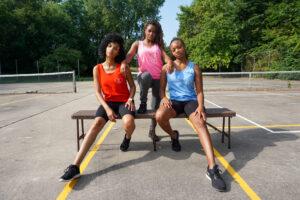 Model: Elle J., Rayneesha Y., Briar W.